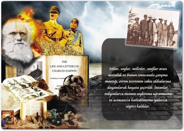 Charles Darwin etkisi abdullah ocalan kurdistan pkk adnan oktar
