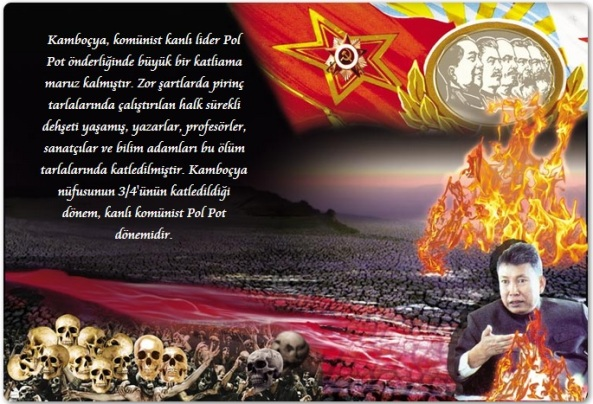 kambocya olum tarlalari komunizm pol pot pkk adnan oktar abdullah ocalan