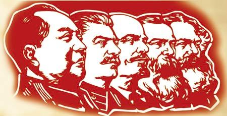 Mao Stalin Lenin Engels Marx