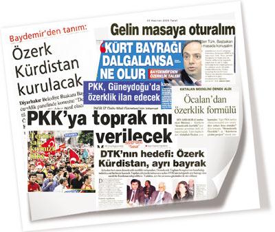 ozerklik gazete kupurleri adnan oktar pkk sirri sureyya onder