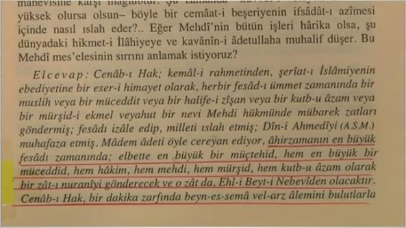bediuzzaman said nursi en buyuk muctehid mehdi muceddid