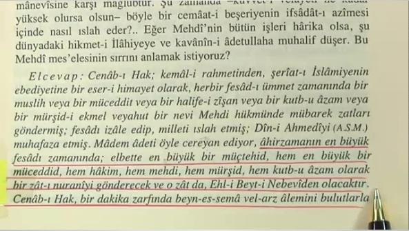 bediuzzaman said nursi muceddid ahir zaman