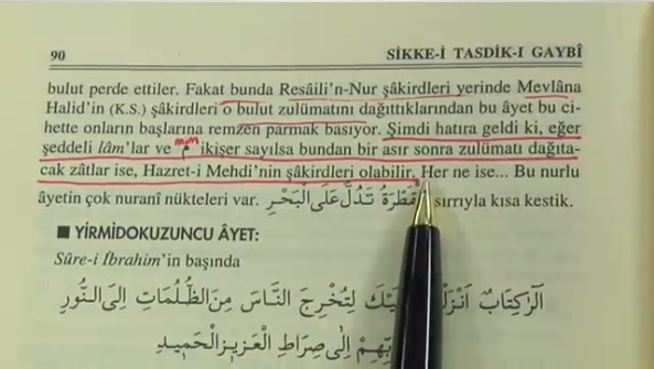 bediuzzaman said nursi sikke-i tasdik-i gaybi mehdi