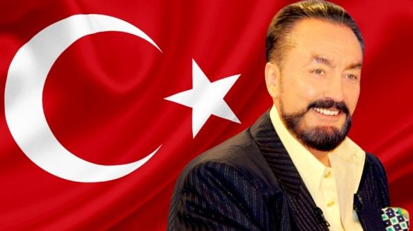 adnan oktar turk bayragi bayrak turkiye islam adnan hoca a9 tv